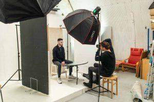 Arch Photo Studio Headshot Shoot
