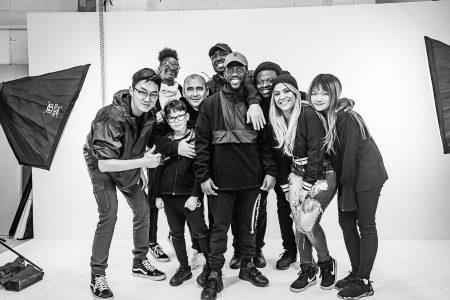 music video wrap group shot