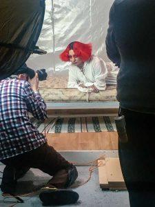fashion editorial portrait shoot