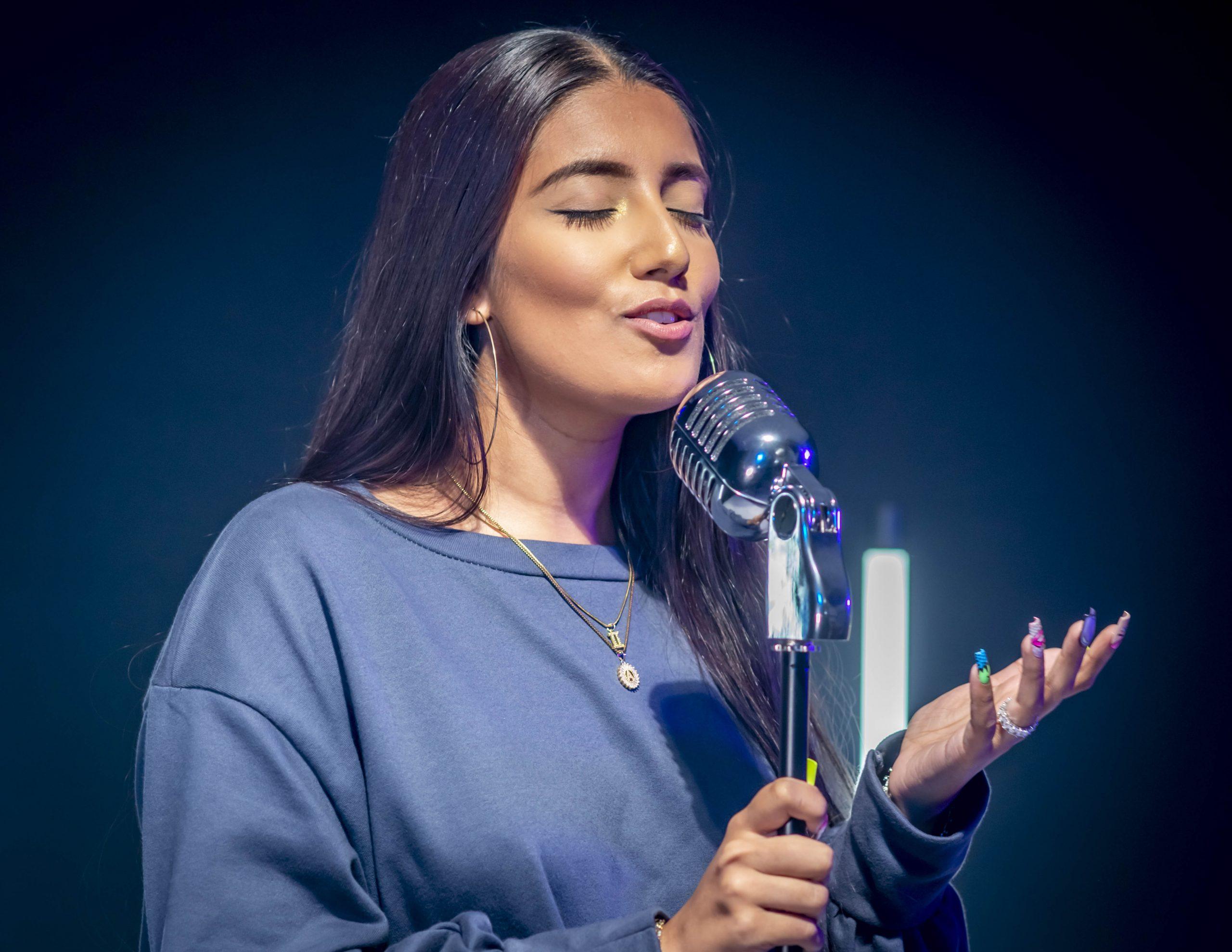 musician singer portrait