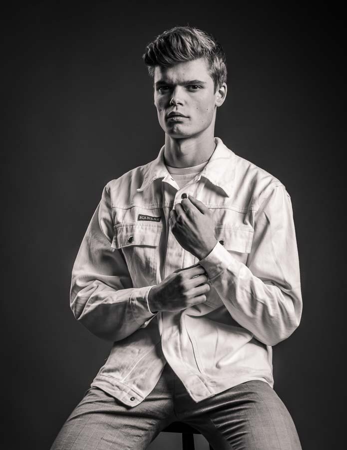 model portfolio portrait