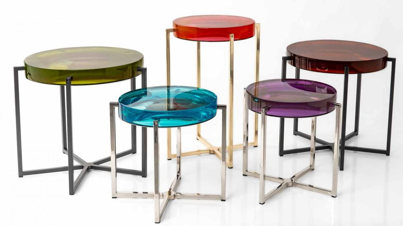 colourful lens tables photo