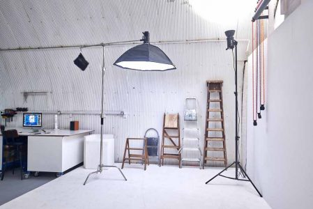 access steps for photo studio