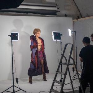 portrait shoot studio lighting