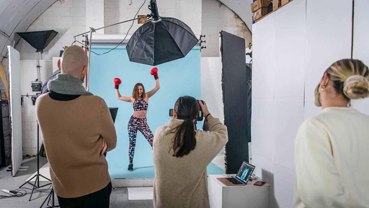 fashion eCommerce photography bts