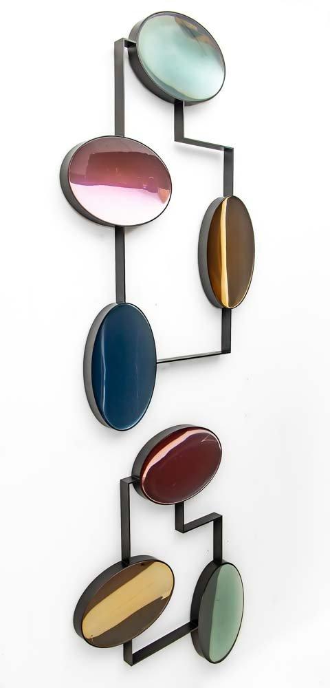 reflective lens wall art