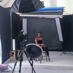 beauty portrait studio lighting