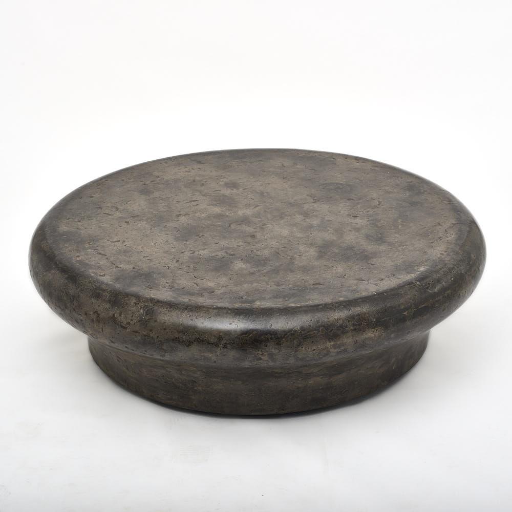 large round bench