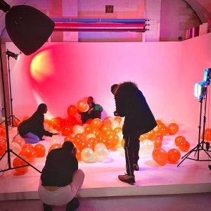 rnb music video shoot